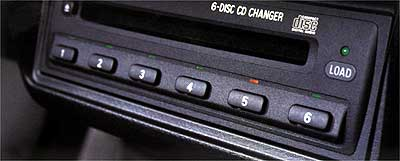 2003 Mitsubishi Lancer In-Dash 6 Disc CD Changer