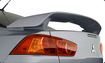 2014 Mitsubishi Lancer Rear Wing Spoiler