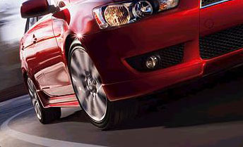 2008 Mitsubishi Lancer Side Sill Extensions
