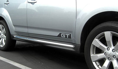 2013 Mitsubishi Outlander Side Graphics - GT MZ314499