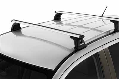 2014 Mitsubishi Outlander Sport Roof Rack Kit - with Factory  MZ314504