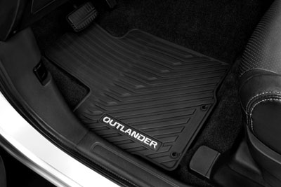 2016 Mitsubishi Outlander Floor Mats - All Weather MZ314739