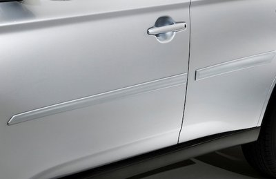 2015 Mitsubishi Outlander Sport Body Side Moldings