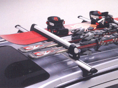 2009 Mitsubishi Outlander Ski and Snowboard Carrier MZ314032