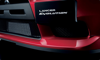 2010 Mitsubishi Lancer Evolution Front Air Dam