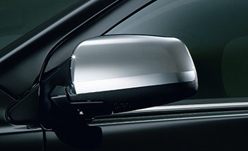 2011 Mitsubishi Lancer Sportback Side Mirror Covers - Chrom MZ569719EX