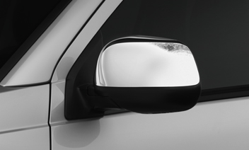 2014 Mitsubishi Outlander Sport Side Mirror Covers - Chrome MZ569716EX